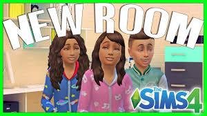 las NUEVAS HABITACIONES de los niños | speed build sims 4 - YouTube