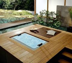 25 designs for indoor and outdoor jacuzzi provide spa experience jacuzzi designs