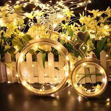Gold Wire Christmas Tree Lights Colorful Copper Wire Led String Light Waterproof Holiday Led Strip Lighting For Fairy Christmas Tree Wedding Party Decoration