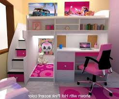 bunk beds with desk for girls - Google Search