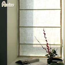 vertical blinds or curtains for sliding glass doors and together whole half blackout linen fabric roman