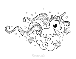 We have made a large collection of high quality unicorn coloring pages for printing. 75 Magical Unicorn Coloring Pages For Kids Adults Free Printables