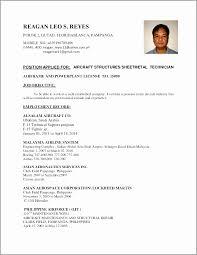 Resume Examples For Ojt Students Inspirational Ojt Resume Ojt Resume