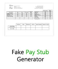 paycheck stub creator fake pay stub generator fake pay stubs