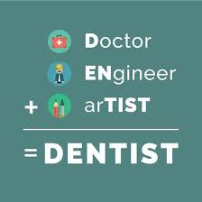 Dentist Quotes Impressive Dentaltown Doctor ENgineer ArTIST = DENTIST Dentaltown