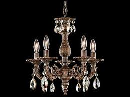 schonbek milano five light 13 wide mini chandelier