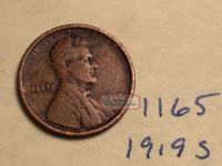 1919 S Penny Value Chart 1919 S Lincoln Wheat Penny