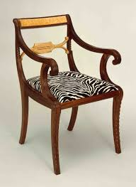 Custom Duncan Phyfe Arm Chair by Marty Mackenzie Fine Furniture