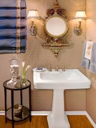 Half Bathroom Decorating Bathroom Half Bathroom Decorating Ideas With Mirrors And Wall