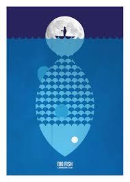 Tim Fish Design Big Fish In 2019 Minimal Movie Posters Alternative Movie