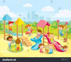 the images collection of playing school clip playground clipart