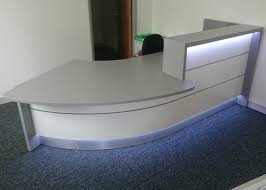 new office desk. New High Gloss Reception Desk Office