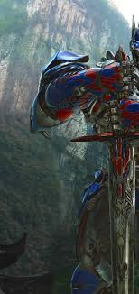 1440x3040 Optimus Prime In Transformers ...