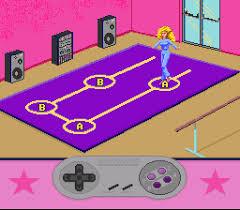 barbie super model snes screenshot