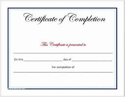 Certificates Of Completion Templates Free Certificate Of Completion Template Free Completion Certificate