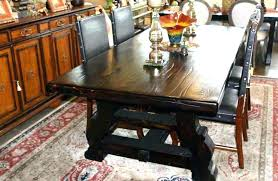 Custom spanish style furniture Mexican Hacienda Spanish Style Dining Room Furniture Dining Table Handmade Trestle Dining Table In Reclaimed Wood By Mortise Ingrid Furniture Spanish Style Dining Room Furniture Dining Table Handmade Trestle
