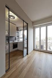 door. Cucina, Kitchen, Interior, Interno, Ristrutturazione, Appartamento, Porte Scorrevoli, Sliding Door, Glass Door