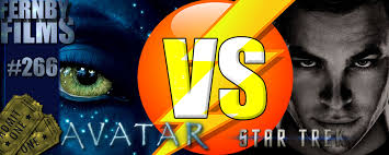 movie review avatar vs star trek fernby films star trek vs avatar logo v5 1