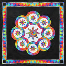 Quilts By The Bay | BeColourful Quilt Kits | Judy Niemeyer Kits ... & Black Magic - BeColourful Quilt Adamdwight.com