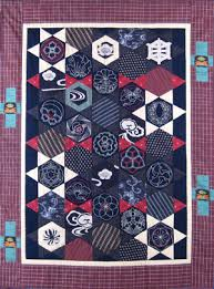 Sashiko Quilt and Wall Hanging Designs | Sashiko: Traditional ... & Hexagon Adamdwight.com