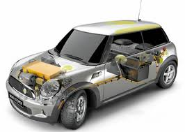 2009 mini mini e electric car 3 door hatchback