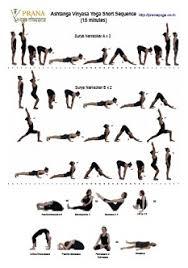 Ashtanga Poses Chart Ashtanga Vinyasa Yoga Short Sequences 45 30 15 Minutes