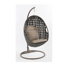 mimosa resin wicker hanging egg chair bunnings warehouse