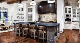 country kitchens with islands. Kitchen Island Breakfast Bar Hill Country Modern Austin Texas Kitchens With Islands