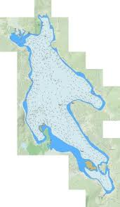 Newfound Lake Fishing Map Us_nh_00868726 Nautical