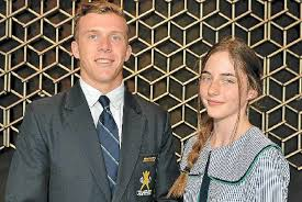 students show anzac spirit s alive and well sunshine coast daily proud ns sons of anzac essay winners tim sullivan and jaimee searle