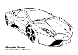 Lamborghini Car Colouring Pages Free Printable Coloring Pages For