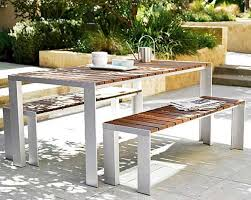 Solid Teak Outdoor Patio Dining Table by Jesºs Gasca