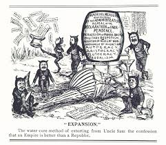 the spanish american war and the anti imperialism league   expansion the water cure method of extorting from uncle sam the confession that an empire is better than a republic
