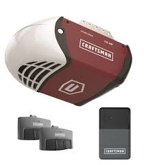 craftsman garage doorsCraftsman 12 HP Chain Drive Garage Door Opener
