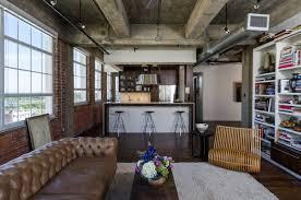 Living Kitchen Houston Loft Content Architecture