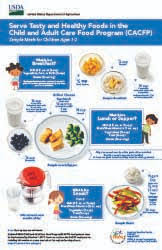 Cacfp Meal Pattern Gorgeous CACFP Meal Pattern Posters Food And Nutrition Service