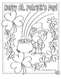 0993e4d56c917ed2c0ec6e417923b292 st patricks day leprechaun, lucky clover and pot of gold coloring on word search worksheets free