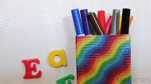 diy magnetic marker holder easy enough for kids to make