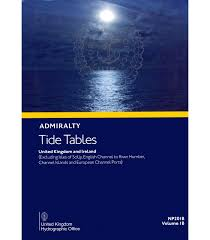 Delaware Beach Tide Chart Np201b Admiralty Tide Tables United Kingdom And Ireland 2020 Edition