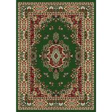 A Hunter Green Area Rugs Home Premium Woven Oriental Rug  2