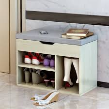 Vine Sfere Creative Shoe Bench Storage Sofa  Shoe Cabinet Rack Fabric With4