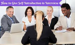 Interview Introduction How To Give Self Introduction In Interview Easily Wisestep