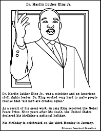 Small Picture Martin Luther King Jr Coloring Pages fashion Pinterest Peace