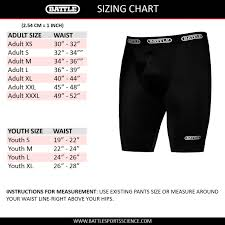 Nutty Buddy Size Chart Compression Shorts