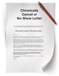 No Call No Show Letter Template