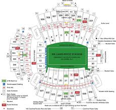 Carolina Stadium Seating Chart Clemson Football Stadium Seating Chart Rows
