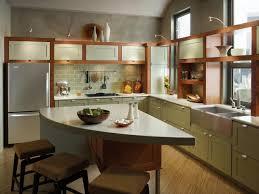Kitchen Storage For Small Spaces Maximize Small Space Green Kitchen Storage Home Remodeling Ideas