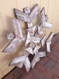 things to make out of scrap wood. scrap wood snowflake....could be lit by drilling holes for each bulb · winter craftsrustic things to make out of