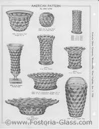 Fostoria American Pattern