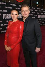 Who is Matt Damon's wife?